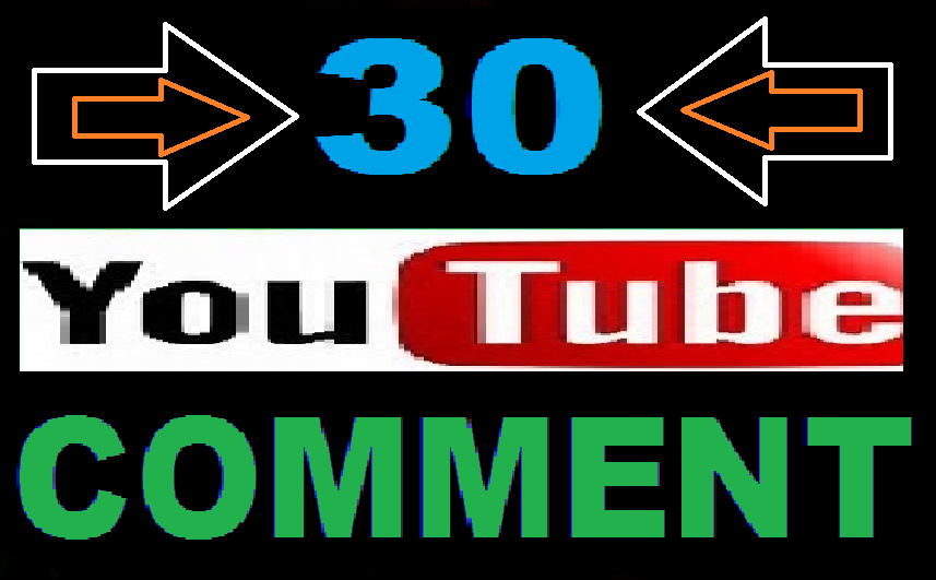 Manually 30 Youtube Costom Comment USA-UK Userswith very fast