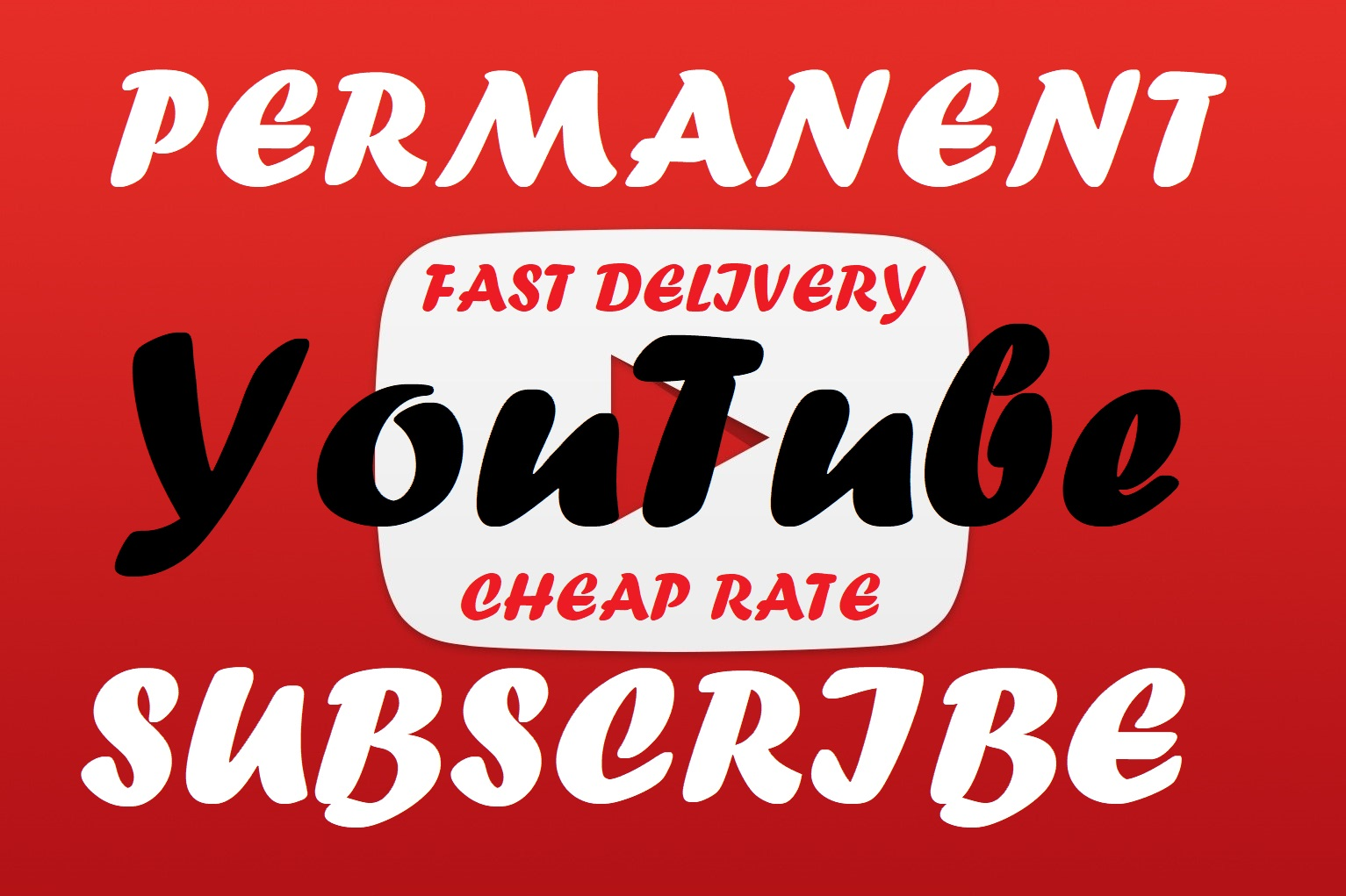 Permanent 1000+ real and active YouTube Subscriber Super fast delivery