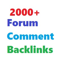 Create 2000+ Forum Comment Backlinks