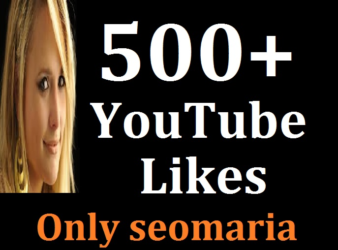 Instant 500 To 600 Real YouTube Likes Non Drop Guarantee