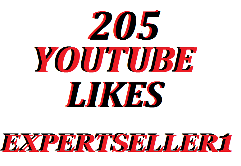 205 Real YouTube Video Likes Super Fast