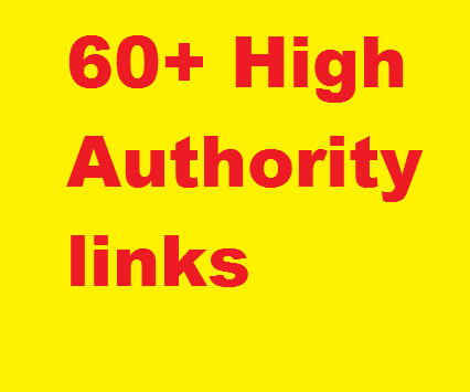Manual 60+ LINKS High Authority(DA 50+) Social Bookmarks, profiles, web2.0 PR4 to 9, from 60 domains