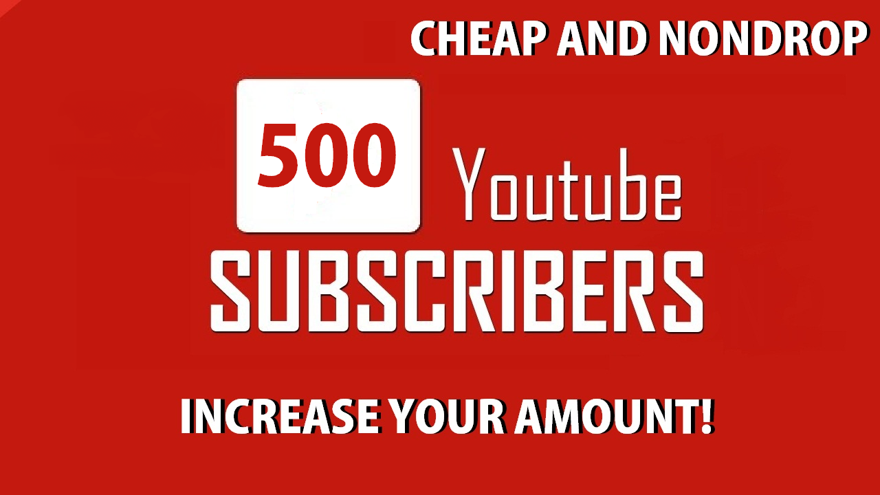 500 Youtube Subscribers STICKY. Split per some channels