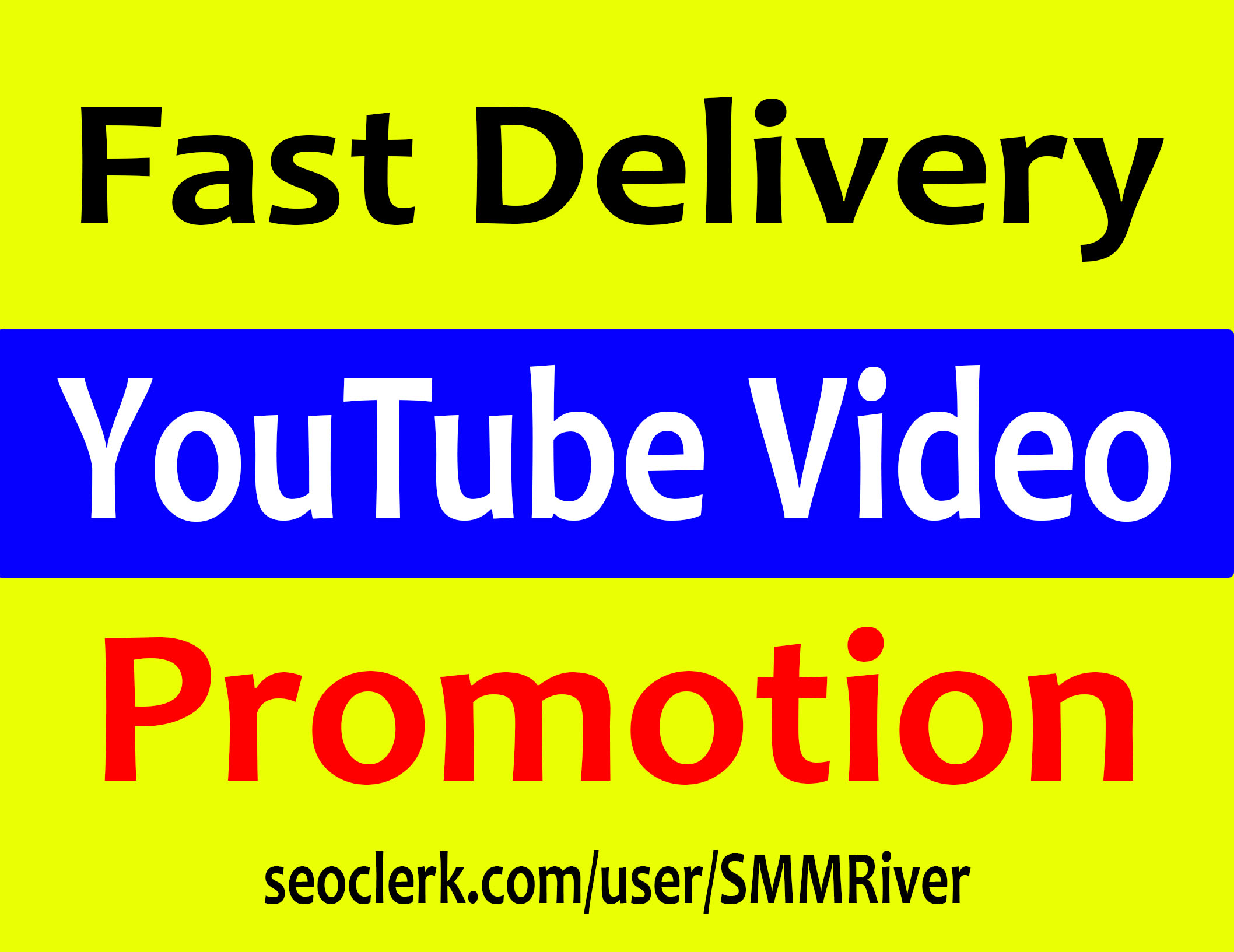 YouTube Video Promotion & Marketing Via Real HQ Audience
