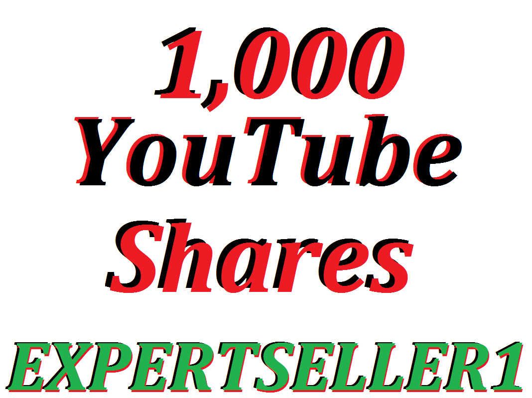 Limited Offer 1,000 YouTube Video Shares