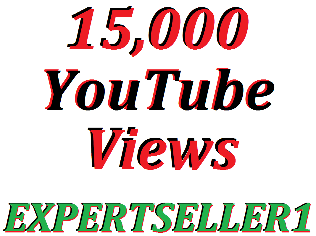 15,000 YouTube Views Or 150 YouTube Custom Comments In Your Video