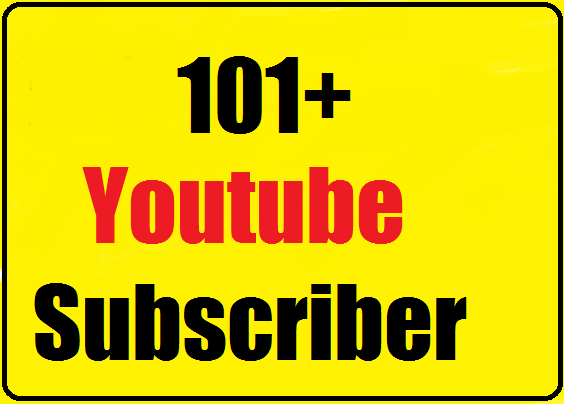 110+ Youtube subs criber manually active channel very fast 24-48 hours