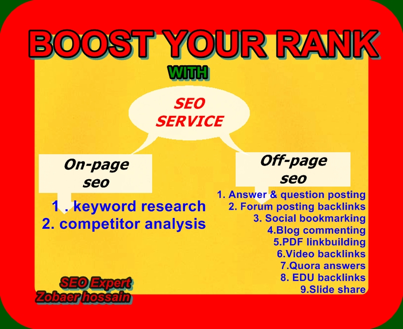 Google First Page Guaranteed Result By Exclusive Full SEO Optimization Service