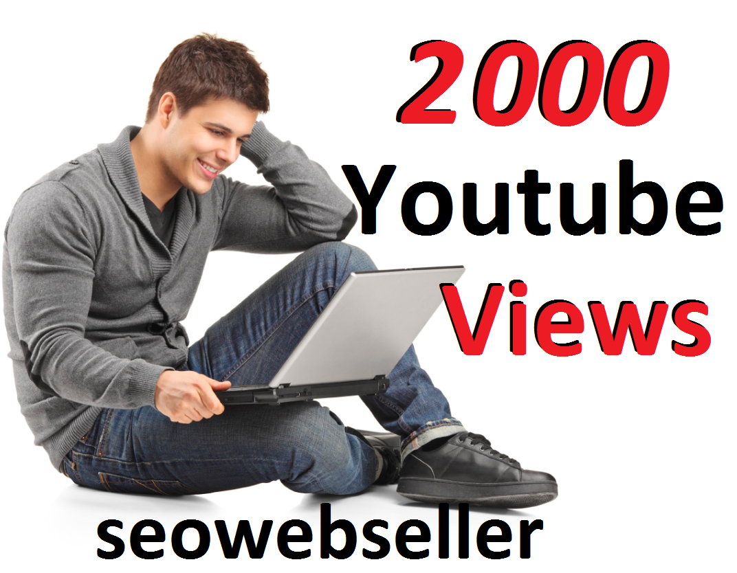 Limited Offer 2,000 YouTube Video Views 30 days Refill Guarantee