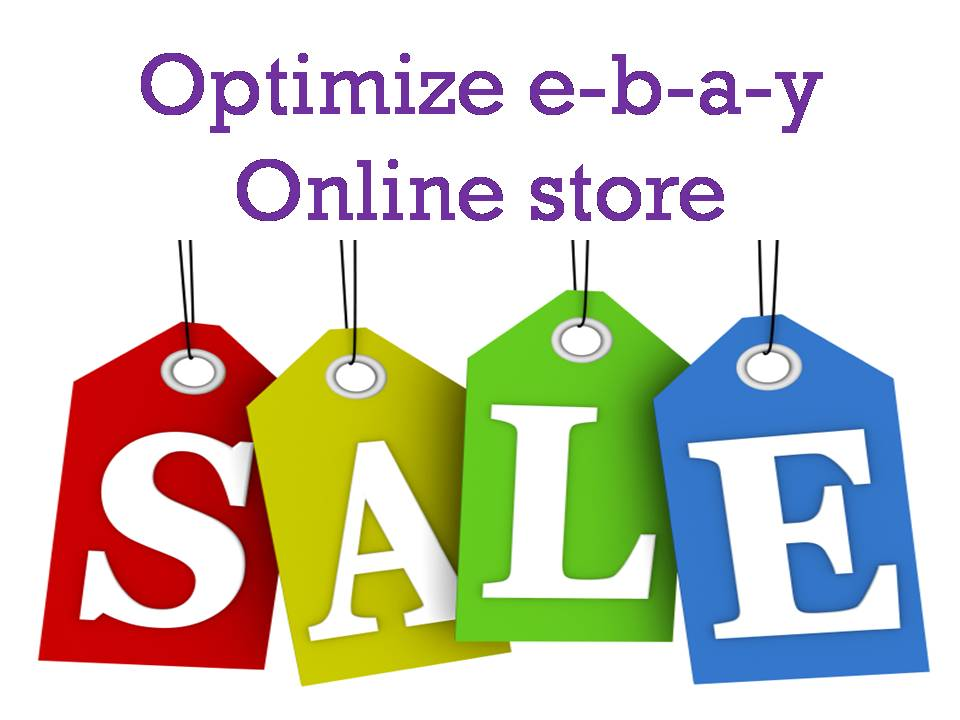 Optimize and market ebay store to 500K US people