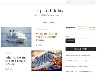 Trip and Relax Sponsored Blog Review