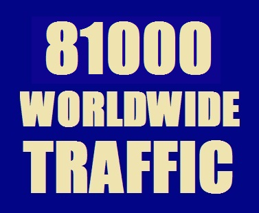 Real 81000 Website Traffic for 10 Days