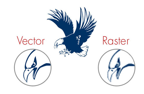 redesign your logo or convert it raster to vactor