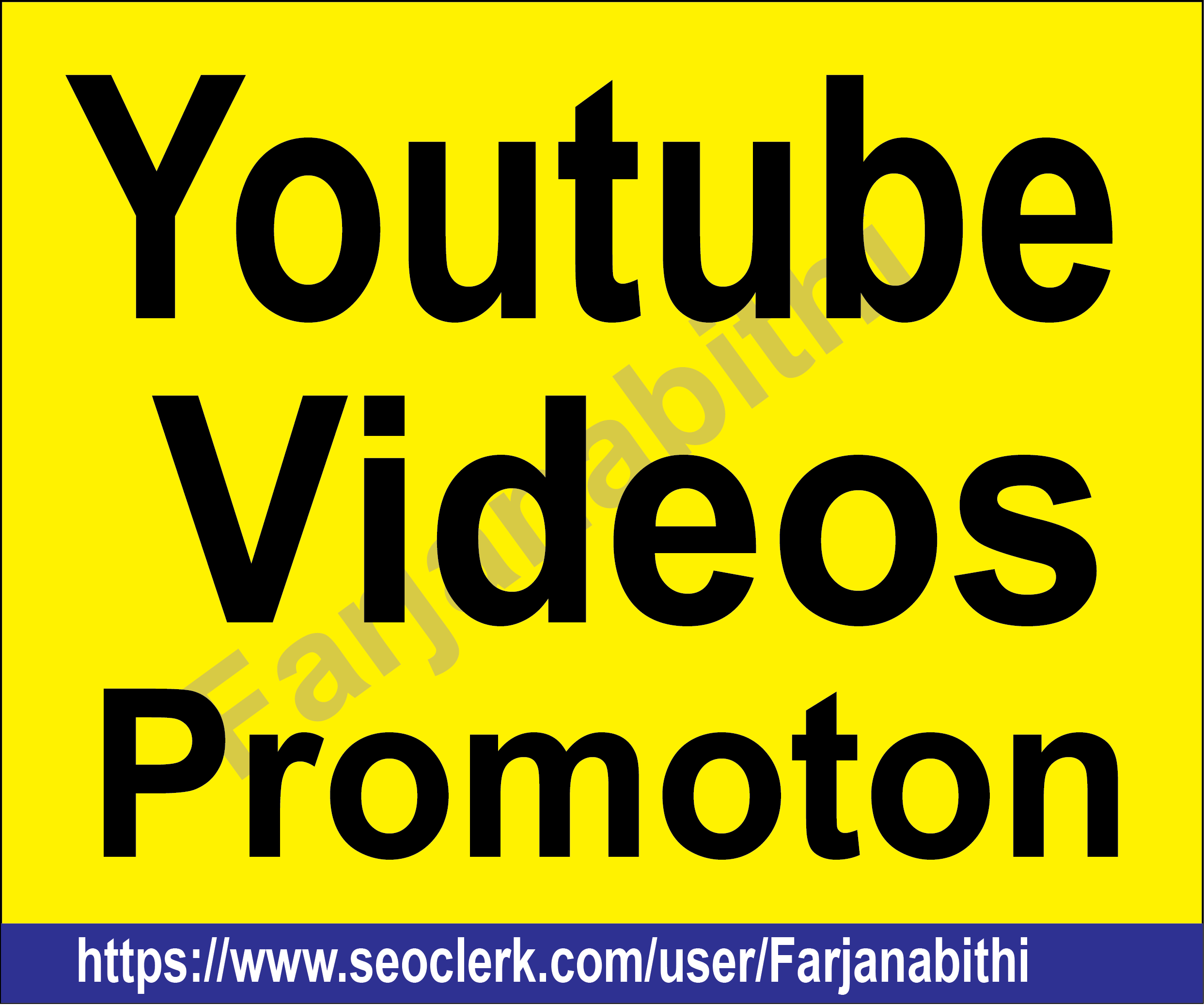 BOOM BOOM Offer Professionally Youtube Video Marketing with Report