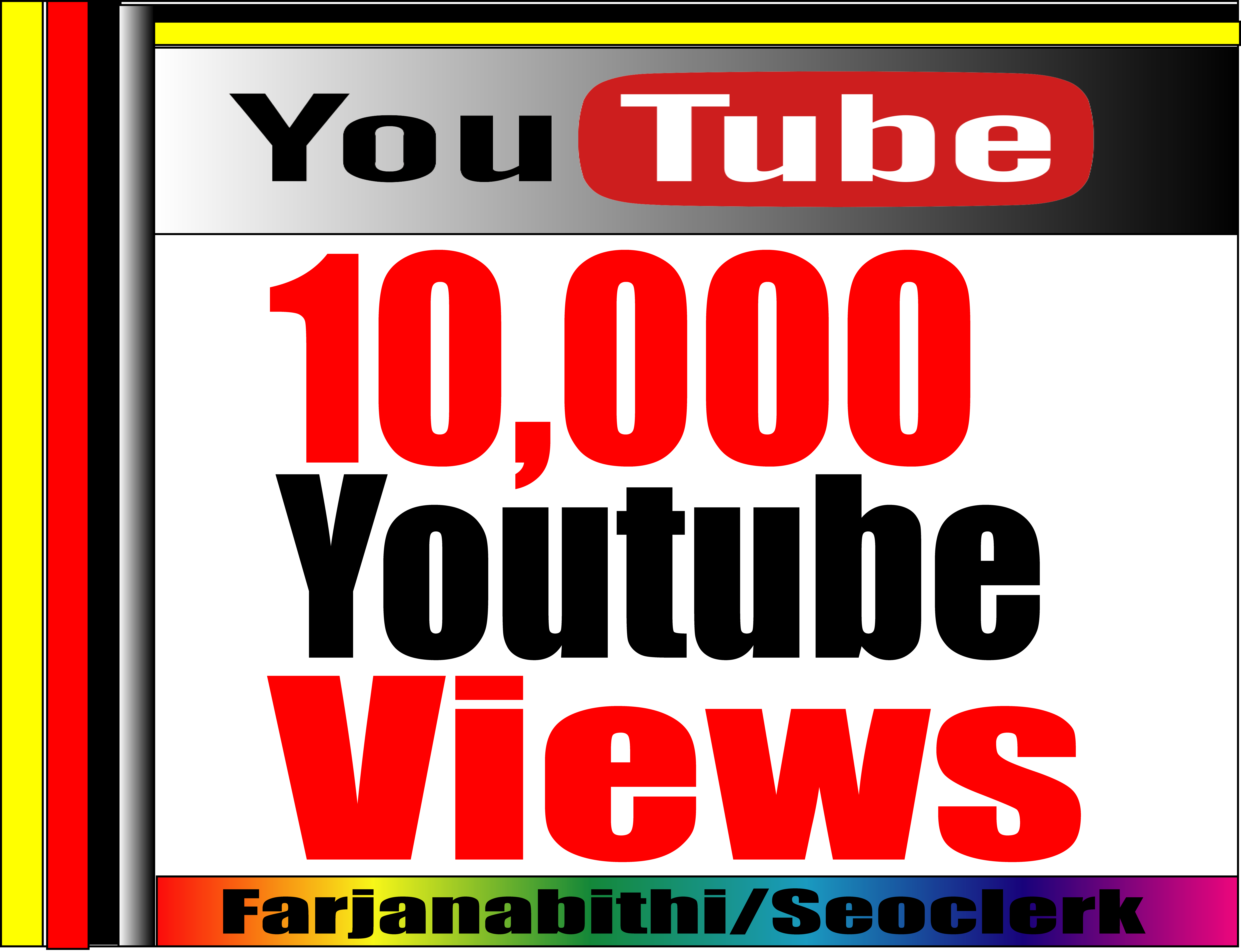 GET SUPPER FAST HR RETENTION  7,000+ To 12,000+ Real & Active adsence safe youtube views on your videos
