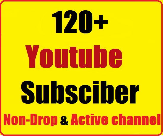 100+ Youtube Channel Subscribers non drop and safe just