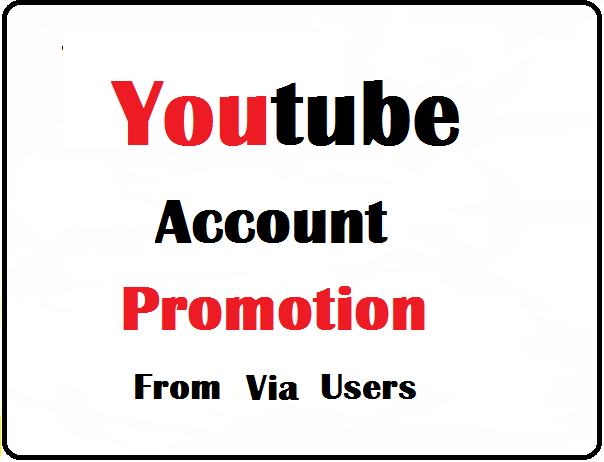 I Will Provide YouTube Account Promotion Basic Pack