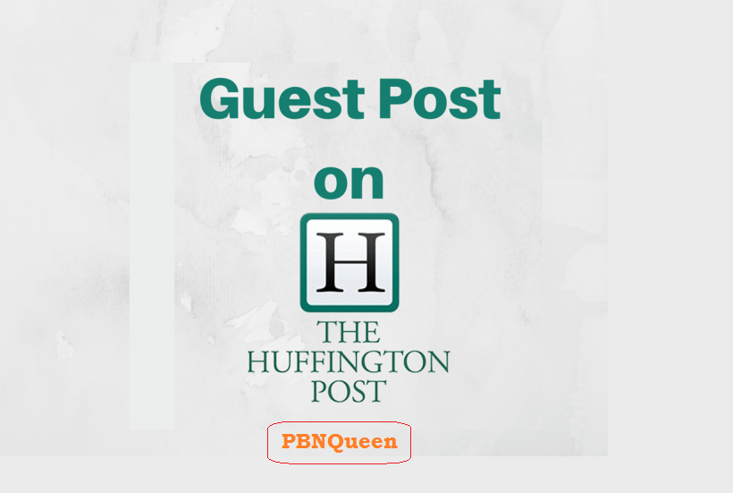 Will write article and Guest Post on Huffingtonpost