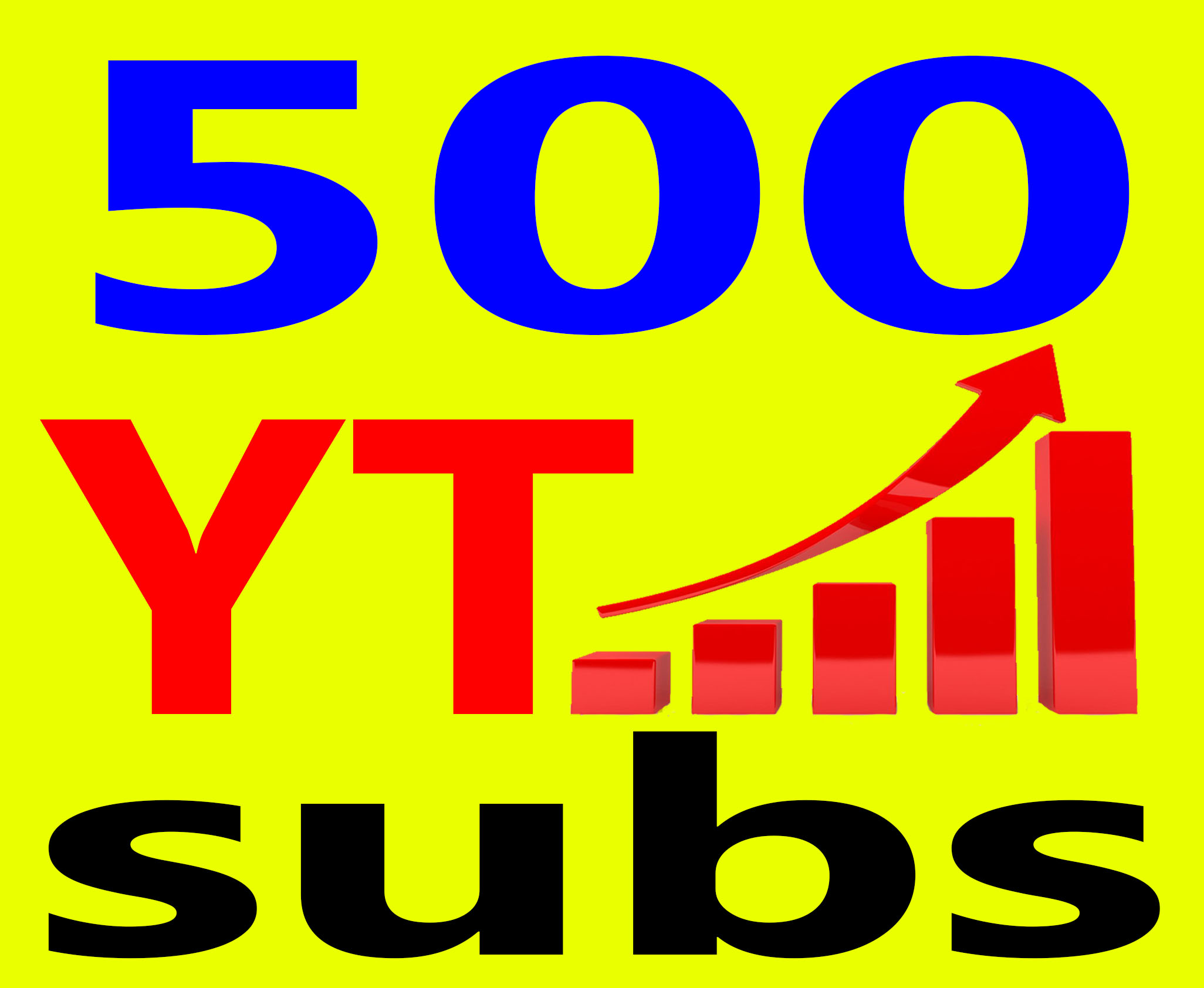 Give You 500+ Human Subs High Quality & Non Drop