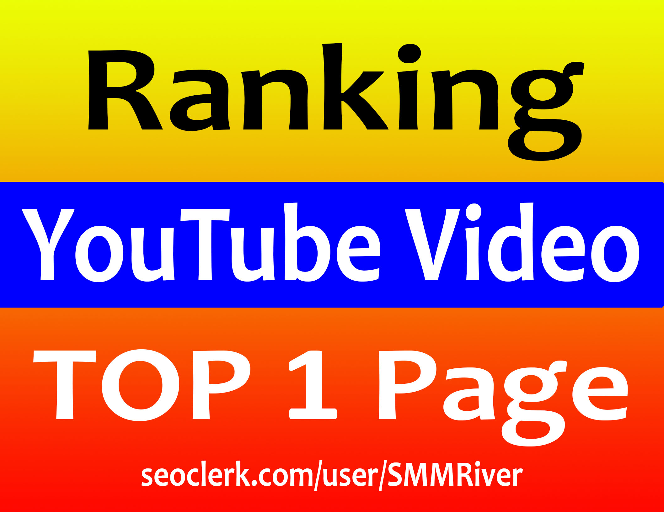 Ultimate YouTube Video Ranking Guarantee TOP 1 Page - Top Results 2019