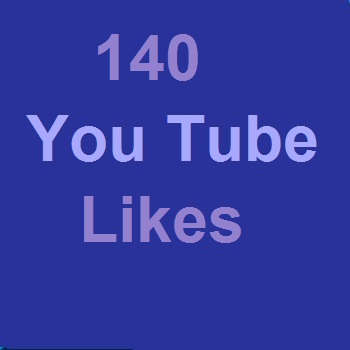 140 You Tube video Likes Or 21+ You Tube custom comments