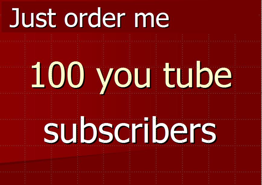 Guarantee 500+ You - Tube Subs-cribers Very Fast