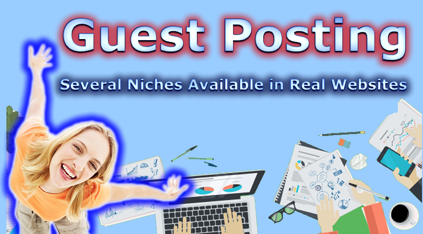 Publish A Guest Post On High Authority REAL Niche Web...