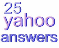 Create 25 yahoo Answers promotion backlinks