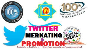 TWITTER AND SOCIAL MEDIA PROMOTION OFFER
