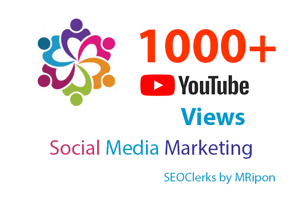 1000+ High Retention YouTube Video Views