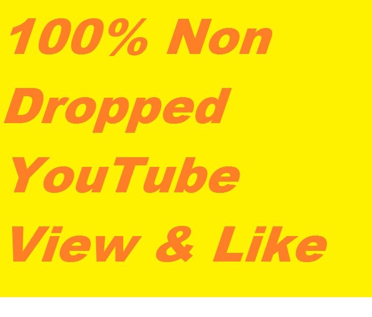 Super Fast 50k-60k Active and Non Dropped You,tube Video Views with 1000+ Real likes