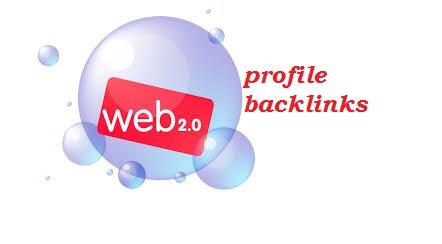 300+web2.0 profile backlinks