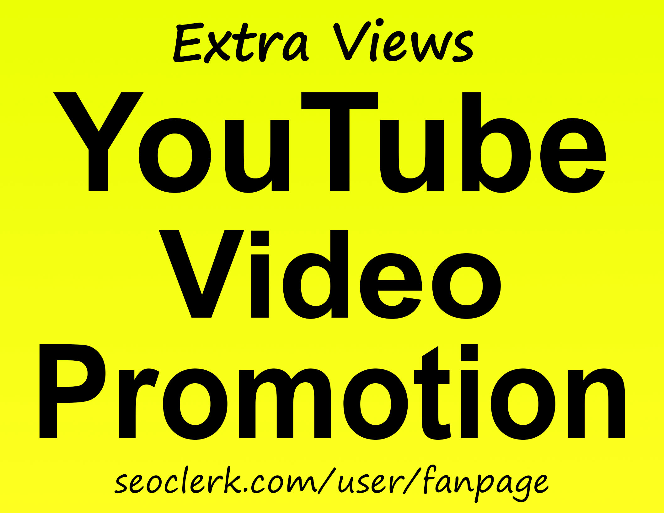 YouTube Video Promotion Via World Wide Audience