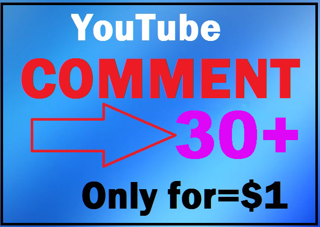 Give you 33+YouTube Custom Comment super fast within 12-24 hours