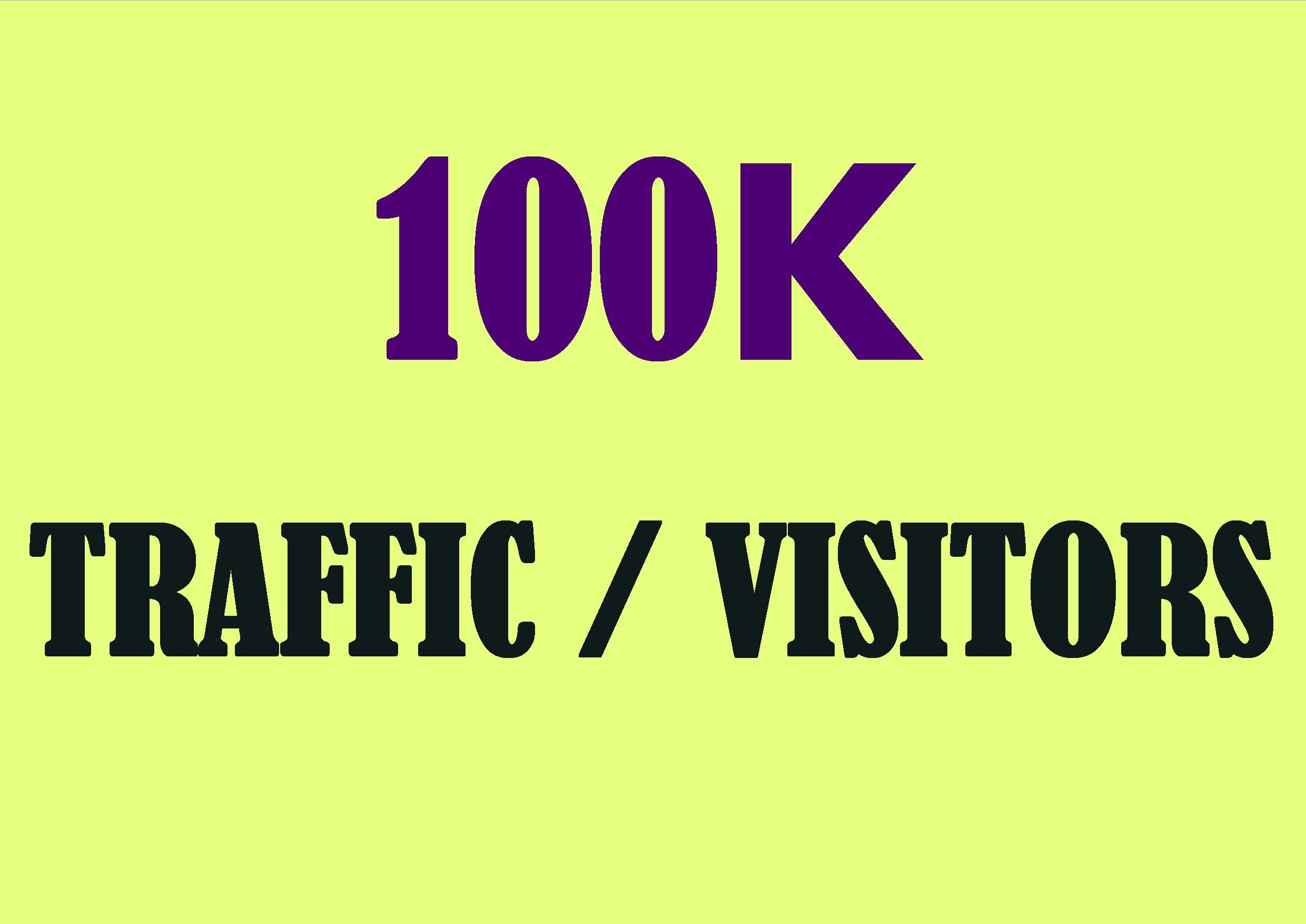 Get Unlimited genuine human traffic from several sources