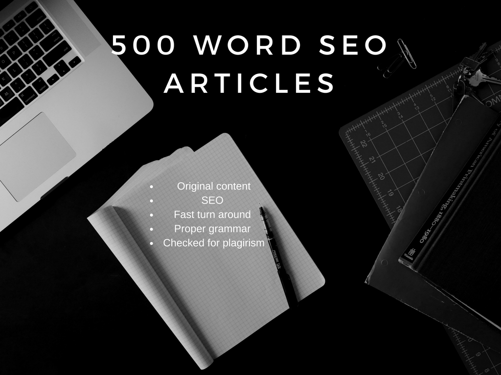 I Wil Write 3 500 Word Quality SEO Articles for your blog