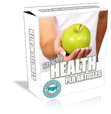PLR for Health and Fitness with Best Quality Articles, Make Money Online Using PLR