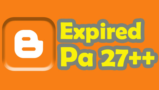 Give 40 expired blogspot Page Authority 27 +