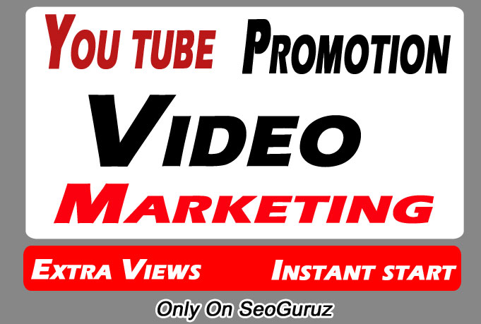Organic YouTube video Promotion and Marketing