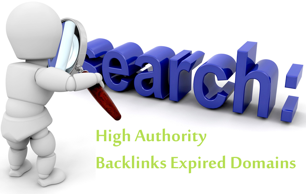 find high authority backlinks expired domains