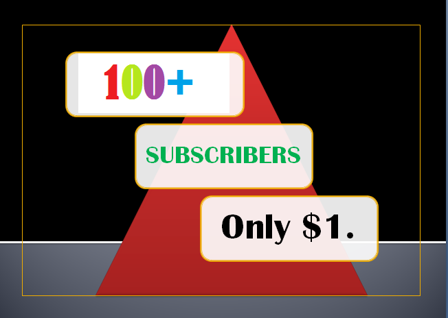 Fast 100+ YouTube Non-Drop Subscriber's