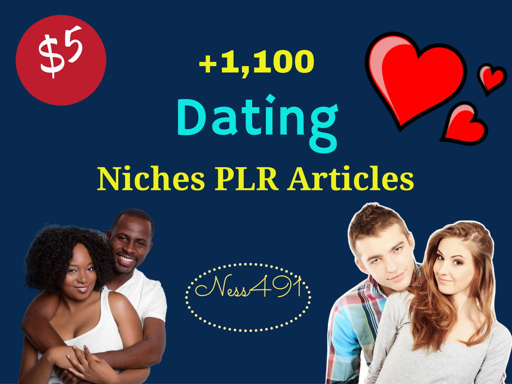 1,100 Dating Niches PLR Articles