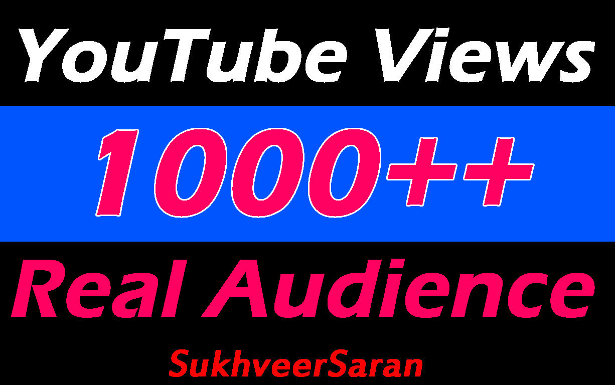 Viral YouTube Promotion with Fast Delivery and Cheap price