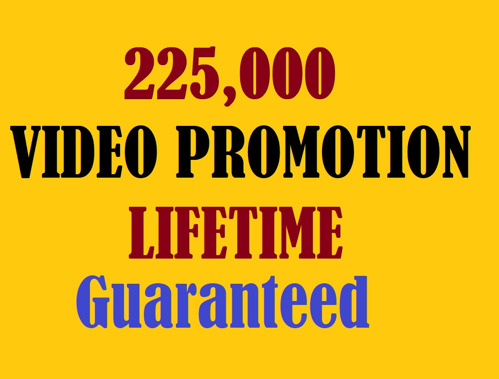 Get 225000+ Social Promotion Instantly and Professionally