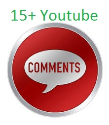 Get 10+ high quality Youtube custom comments.