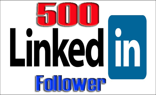 Provide 500 LinkedIn follower to your company page or profile account