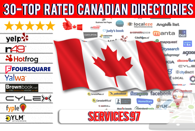 Add your Business in 30 TOP Rated Local Directories / Citations