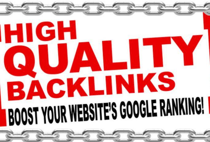 40000 High Quality SEO Backlinks