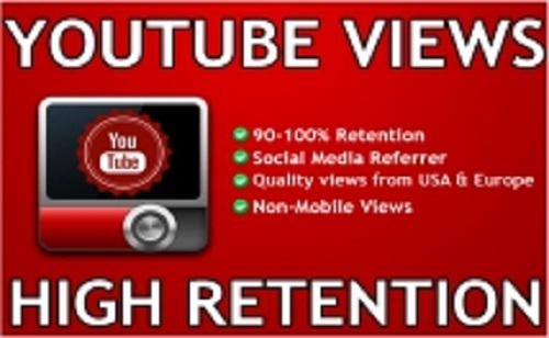 Provide 1000+ to 1100+ YouTube Views and 5 Likes to your video