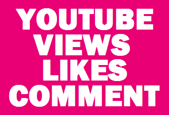 6,000 YouTube Views 400 Real YouTube Likes + 3 Custom Coment